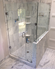 frameless shower enclosure MD