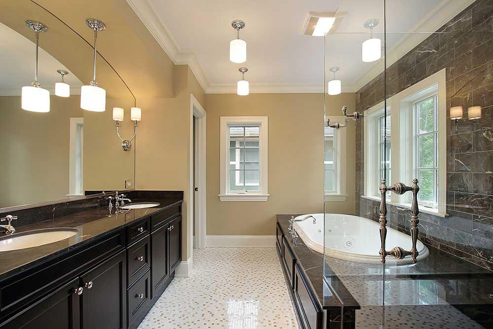 Custom Glass Mirrors Tabletops Montgomery Co Md Dc Va