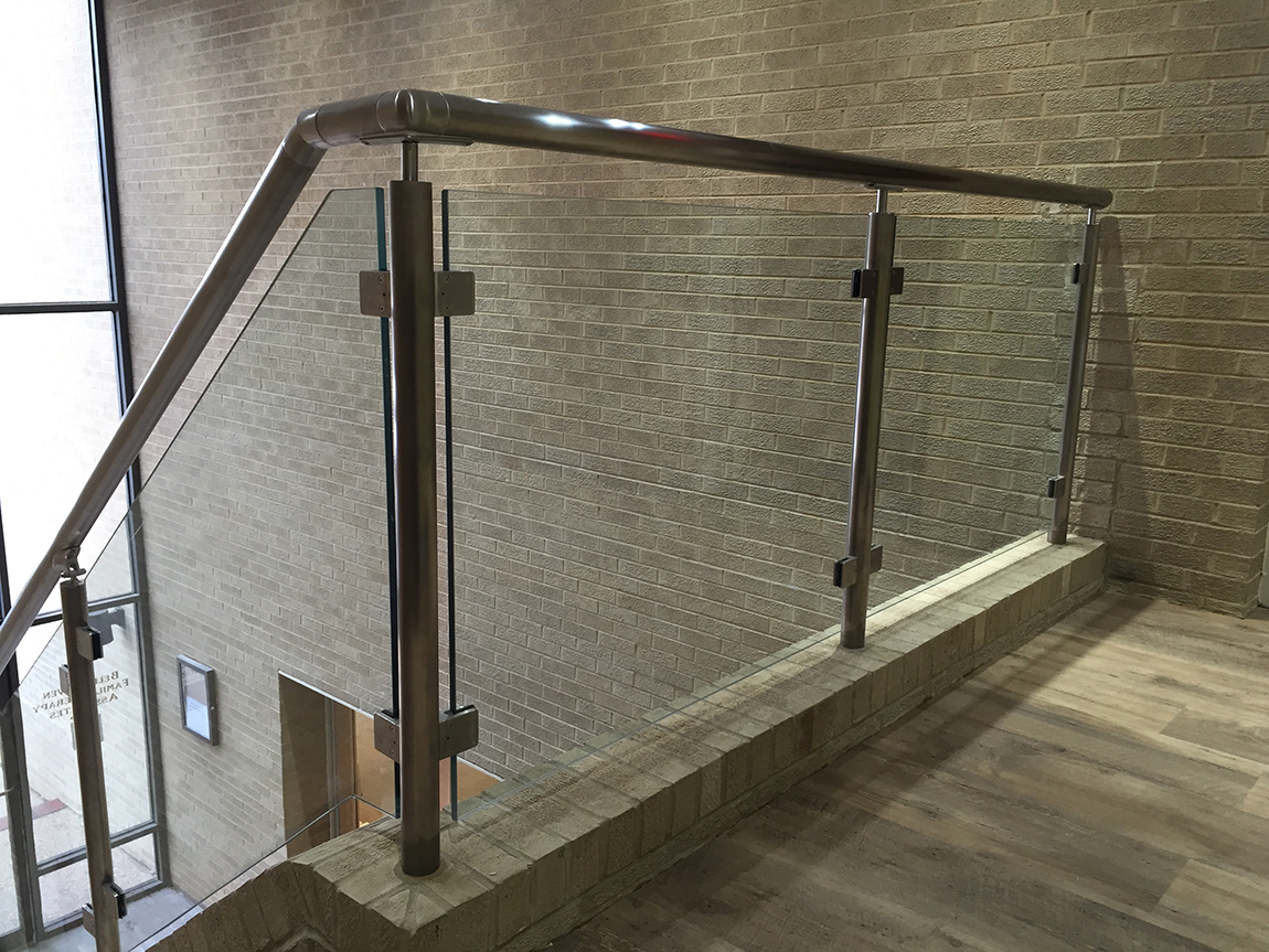 Custom Glass offices Montgomery Co MD | Glass Partitions ...
