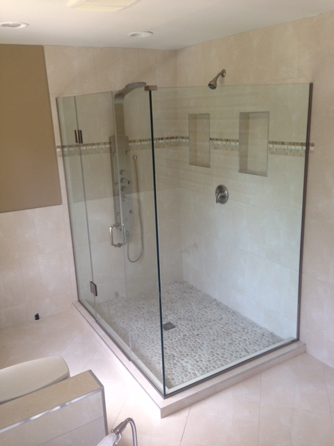Custom Glass Shower Enclosures Gallery2 Montgomery Co Md